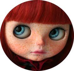 Custom Blythe Doll Katie por chercheto en Etsy