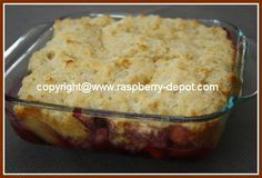 Here is a healthy SUGAR FREE COBBLER Recipe with PICTURES!, a bumbleberry mixed fruit cobbler dessert for diabetics, a choice recipe idea made with a sugar substitute such as Splenda.