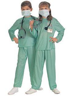 Kids Er Doctor | Cheap Occupational Halloween Costume for Girls