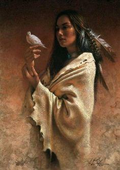 "Lee Bogle-Frieden Native american paintings-""The Only True Americans"" Oreon Sutphen Lee Bogle-Frieden Native American Paintings, Native American Wisdom, Native American Pictures, Native American Beauty, American Indian Art, Native American History, American Indians, American Symbols, American Girl"