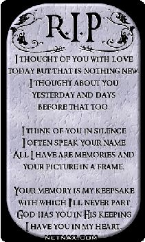 Memory Of Lost Loved Ones Quotes : memorial quotes for loved ones If you could have one thing, even if ...