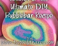 DIY Bubble Bar / Solid Bubble Bath Recipe- FOOLPROOF!