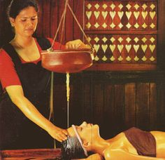 Ayurveda - Shirodhara treatment