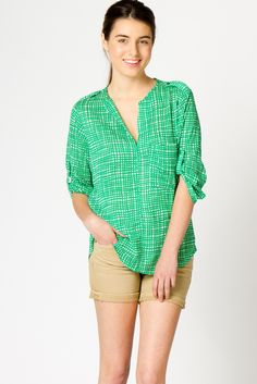 Cute colored blouse