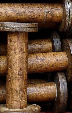 Vintage Wooden Spools                                                                                                                                                                                 More