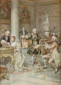 The concert by Ludovico Marchetti