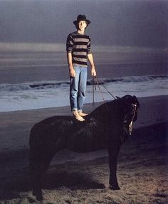 """I just love Timothy Hutton.  from the pinboard of Mare  """"Timothy Hutton, Malibu, California, 1981 by Annie Leibovitz"""""""