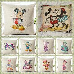 Daisy Duck Custom Zippered Pillow