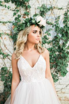 De Ma Fille Beauty, Aubry Edwards | Hayley Paige 'Nicoletta' | De Ma Fille Bridal | www.demafille.com | Fort Worth, TX | 817.921.2964