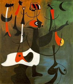 Rhythmic Personages, Joan Miro
