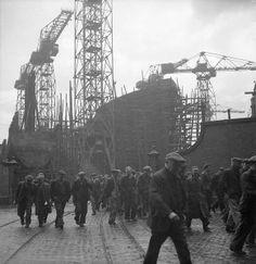 Glasgow Shipyard- Shipbuilding in Wartime