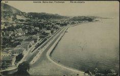 A.Ribeiro. Avenida Beira-Mar, Flamengo, 1905?. Rio de Janeiro / Acervo FBN