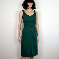50s NELLY DON Day Dress