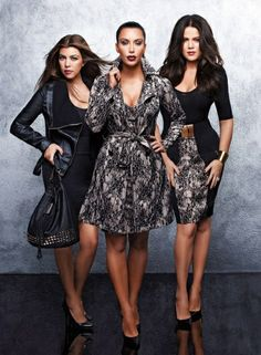 I actually like the Kardashions!! Oh and I have that rain coat .