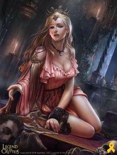 Princesa caída Legend of the cryptids