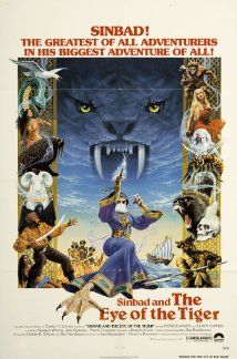 Directed by Sam Wanamaker. With Patrick Wayne, Jane Seymour, Taryn Power, Margaret Whiting. Sinbad The Sailor sails to deliver a cursed prince to a dangerous island in the face of deadly opposition from a powerful witch. Classic Movie Posters, Movie Poster Art, Classic Movies, Jane Seymour, Science Fiction, Sinbad The Sailor, Tiger Poster, Image Internet, Adventure Movies