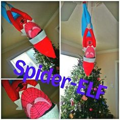 What the E.L.F.? Spider-ELF! Happy ELFMAS!