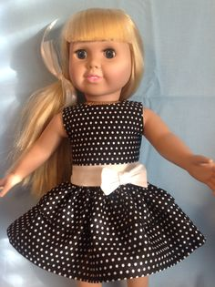 American Girl doll or any 18 inch doll. by CuteAsPieCreations, $13.00