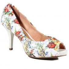 sapato linho floral vizzano - Pesquisa Google