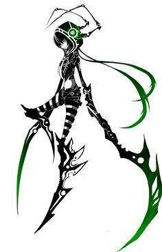 Mantis by ZephyraVirgox.deviantart.com on @deviantART