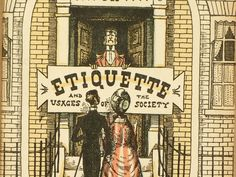 1940s etiquette book Hints on Etiquette by EAGERforWORD on Etsy