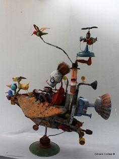 gérard collas,assemblage,art,marge,contemporain,