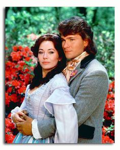 "Lesley-Anne Down&Patric Swayze ""North&South"" 1984 . North And South, South Usa, Dirty Dancing, Classic Tv, Classic Movies, British Actresses, Actors & Actresses, Civil War Movies, Patrick Swayze"