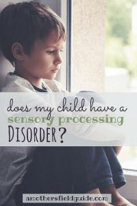 Did you know that 1 in every 6 children could be experiencing a sensory processing disorder? Find out the signs today and also how to help your child!