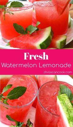 Fresh Watermelon Lemonade Recipe~ So easy! Recipe for fresh watermelon lemonade So easy to make and tastes so refreshing! L 😋 😋 🍉 🍉 🍉 🍉 🍉 🍋 🍋 🍋 l l # lemonade # watermelon # refreshing # homemade Fruit Drinks, Yummy Drinks, Healthy Drinks, Healthy Lemonade, Kid Drinks, Make Drinks, Fruity Drinks Non Alcoholic, Drink Recipes Nonalcoholic, Healthy Food