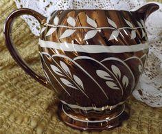 copper lusterware
