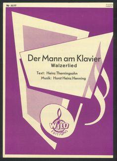 PAUL KUHN - DER MANN AM KLAVIER - 1954 - ORIG. MUSIKNOTE - KLAUS WUNDERLICH