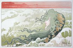 Henri Privat-Livemont La Vague (The Wave)