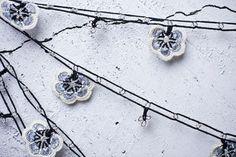 Crochet necklace turkish lace needle lace oya от beyhan1972