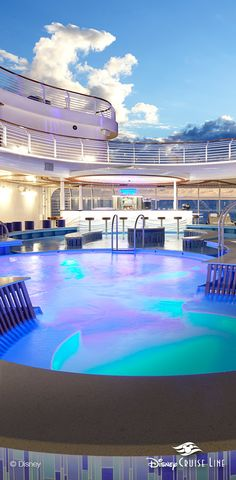 Quiet Cove Pool | Disney Dream, Disney Fantasy, Disney Wonder & Disney Magic