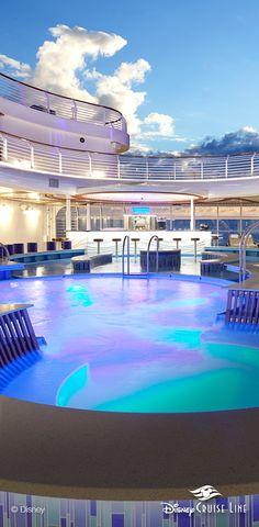 Quiet Cove Pool | Disney Dream, Disney Fantasy, Disney Wonder & Disney Magic