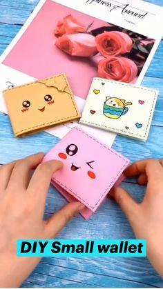 Diy Crafts Hacks, Diy Crafts For Gifts, Diy Crafts Videos, Crafts To Make, Easy Crafts, Diys, Paper Crafts Origami, Origami Paper, Cool Paper Crafts