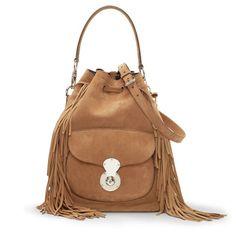 775a05d1566f Shearling Ricky Drawstring Bag - The Drawstring Ricky Handbags - RalphLauren.com  Ralph Lauren Collection