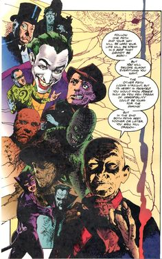 And another superb Arthur Ranson montage of Batman's villains Dark Legends, Comic Art, Comic Books, Batman Dark, Comic Panels, Manga, Dark Knight, Cartoon Art, Illustration