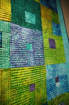 The quilting makes an incredibly simple design really take off and shine!