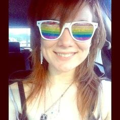 Spencer's Gifts Accessories - ⭐️Worn ONCE - Rainbow Lense Spencer's Sunglasses⭐️