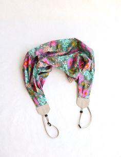 Last Call Sale: scarf camera strap fresh flowers - BCSCS017