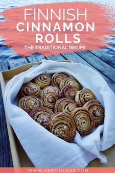 The Irresistible Finnish Cinnamon Rolls: Pulla Recipe – Her Finland Finnish Pulla Recipe, Nordic Recipe, Finnish Recipes, Finnish Cake Recipe, Poutine, Finnish Cuisine, Finland Food, Baking Recipes, Dessert Recipes