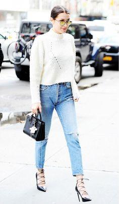 Conheça o estilo de Bella Hadid, a irmã da modelo Gigi Hadid!
