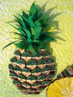 Help yourself, masters, this time I have matured PINEAPPLE !!!  6 photos