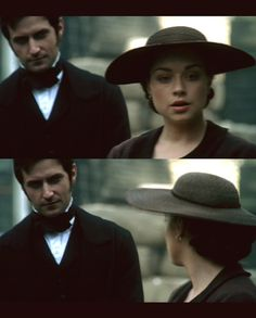 He's behind me, isn't he?  Ah, yup. He is. :) - North & South directed by Brian Percival (TV, Mini-Series, BBC, 2004) #elizabethgaskell #fanart