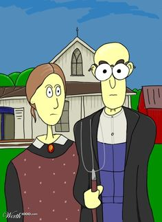 American Gothic More Pins Like This At FOSTERGINGER @ Pinterest