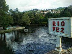Boa tarde :D Passou a tempestade sem danos de maior e o rio Vez em Arcos de retoma o seu curso normal mais calmo  A fotografia é das 13:00 de hoje