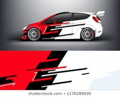 red abstract strip for racing car wrap, sticker, and decal. red abstract strip for racing car wrap, sticker, [. Racing Car Design, Motorcycle Design, Car Stickers, Car Decals, Wonder Woman Logo, Cool Sports Cars, Strip, Car Tuning, Car Painting