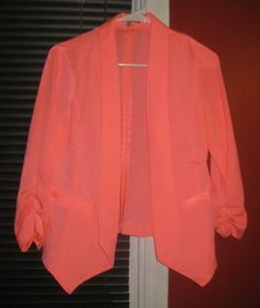 Women's Hot Pink Charlotte Russe Blazer Size M | eBay