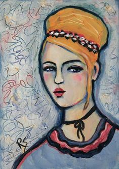 Bella - Original Portrait Painting by Roberta Schmidt - ArtcyLucy on Etsy Henri Matisse, Matisse Art, Renoir, Portrait Art, Portraits, Matisse Paintings, Paint Photography, Painting People, Art For Art Sake